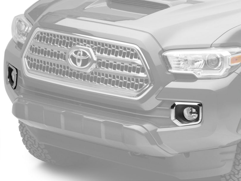 OEM Style Fog Lights with Switch; Clear (16-20 Tacoma)