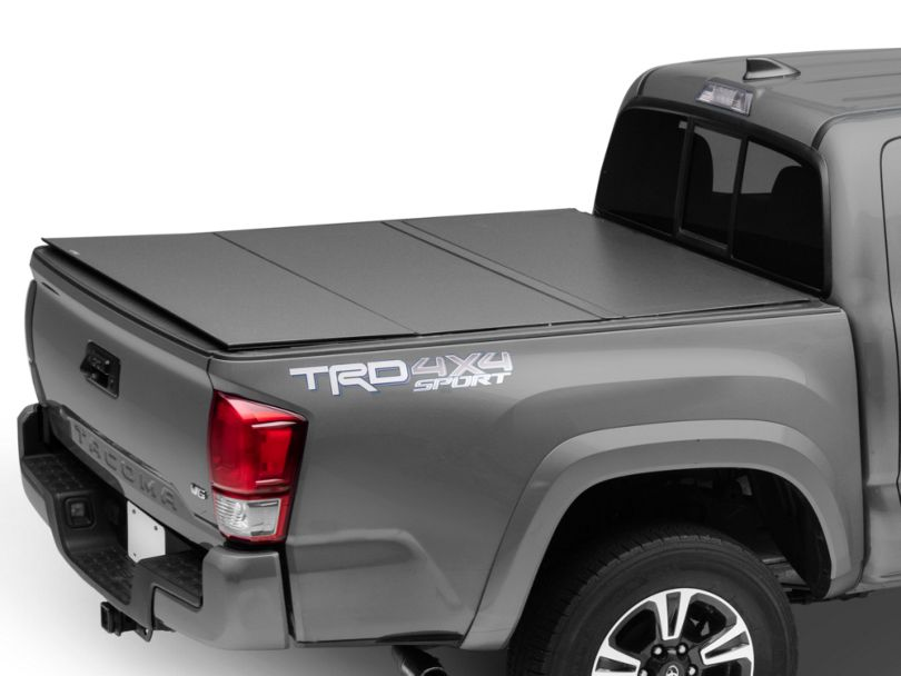 Lomax Hard Tri-Fold Tonneau Cover (16-20 Tacoma)
