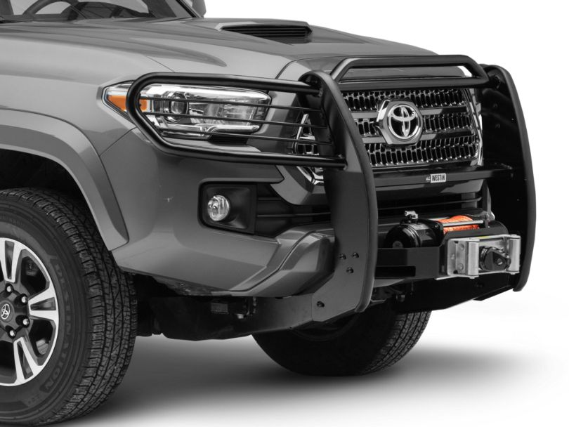 Sportsman Winch Mount Grille Guard - Black (16-20 Tacoma)