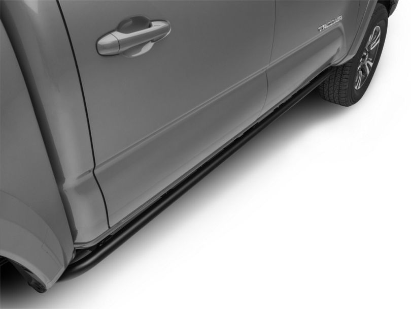 N-Fab Cab Length RKR Side Rails - Textured Black (16-19 Tacoma Double Cab)