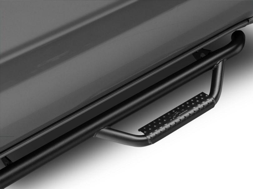 N-Fab Wheel 2 Wheel Nerf Side Step Bars - Textured Black (16-20 Tacoma Double Cab)
