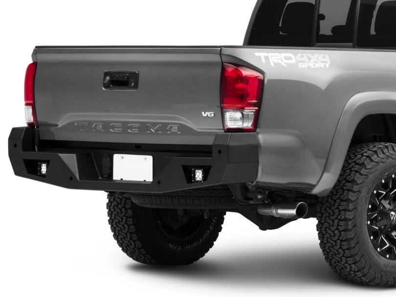 Armour Rear Bumper w/ Dually Lights (16-20 Tacoma)