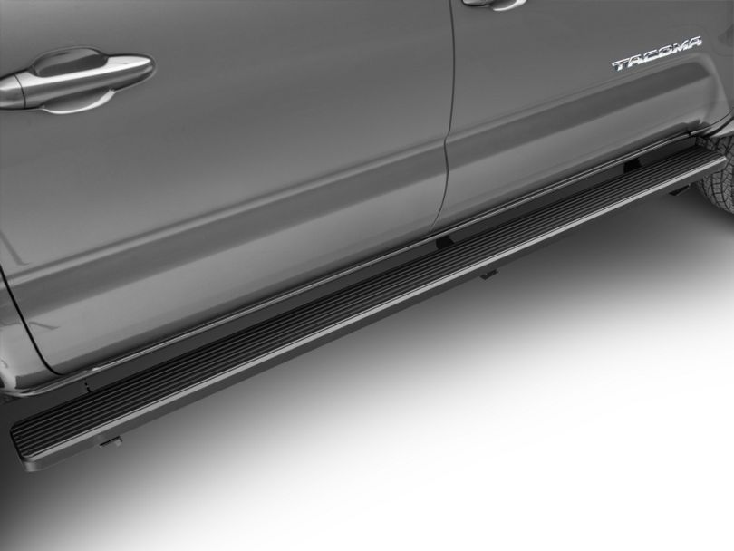 5 in. iStep Running Boards - Black (05-20 Tacoma Double Cab)