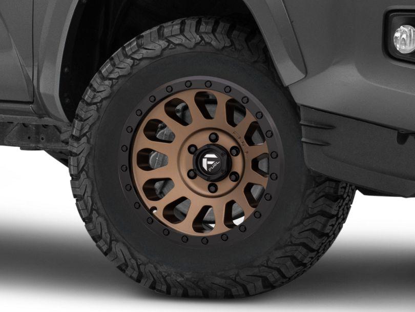 Fuel Wheels Vector Bronze 6-Lug Wheel; 17x8.5; 7mm Offset (16-20 Tacoma)