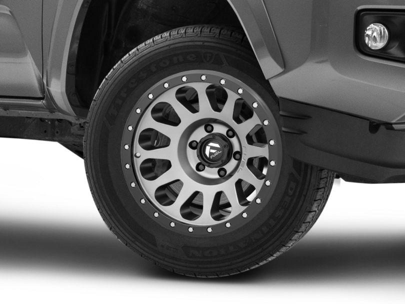 Fuel Wheels Vector Gun Metal 6-Lug Wheel; 18x9; 1mm Offset (16-20 Tacoma)