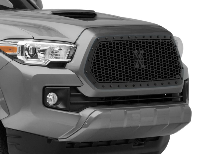 T-REX Stealth Laser X-Metal Series Upper Grille Insert - Black (16-17 Tacoma)
