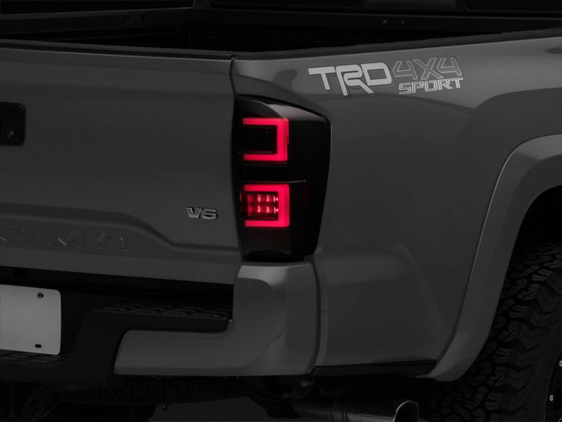 LED Tail Lights - Black Smoked (16-20 Tacoma)