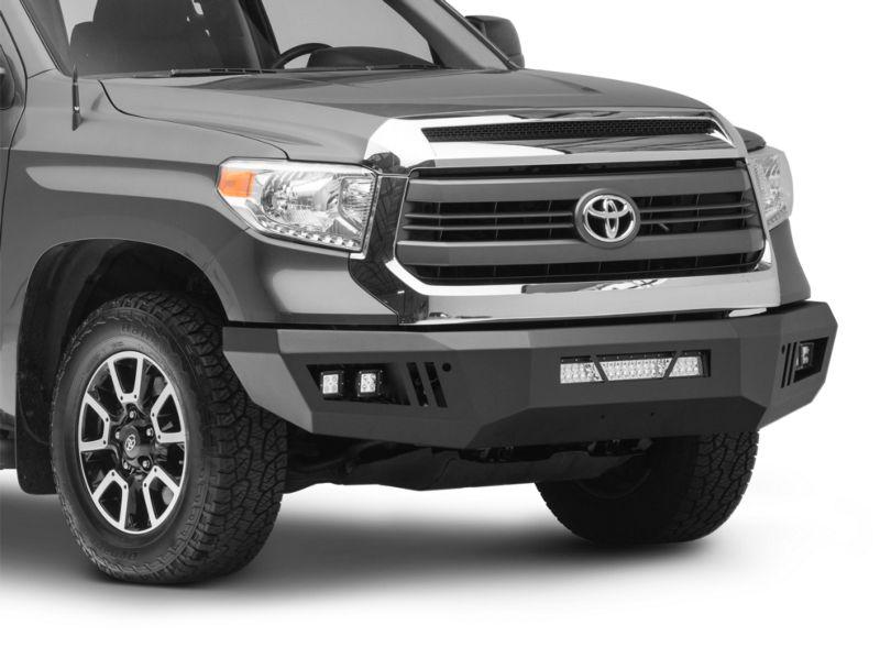 Barricade HD Front Bumper w/ LED Fog Lights, Spot Lights & 20 in. LED Light Bar - Textured Black (14-20 Tundra)