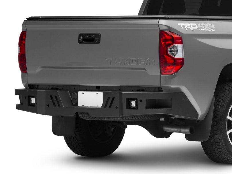 Barricade HD Rear Bumper with LED Fog Lights (14-20 Tundra)