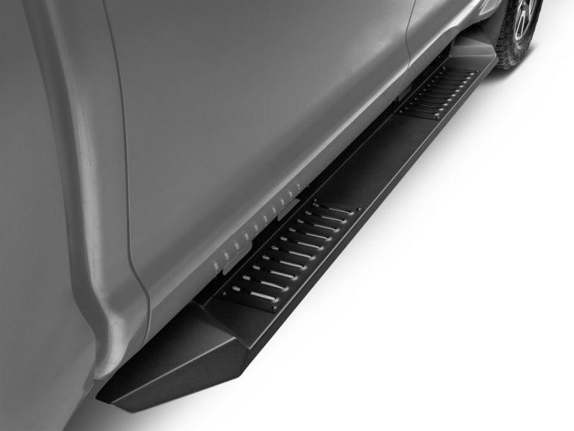 Barricade HD Steel Running Boards; Black (07-20 Tundra CrewMax)