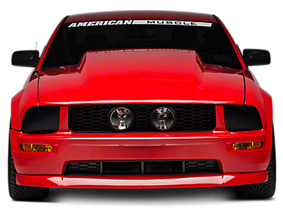 2005 2009 pre painted mustang parts americanmuscle. Black Bedroom Furniture Sets. Home Design Ideas