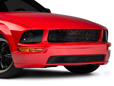 Modern Billet Black Retro Billet Grille - Upper (05-09 GT)