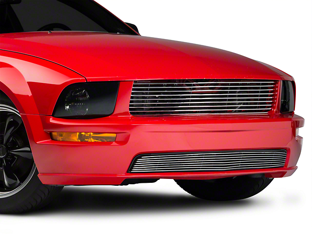 Modern Billet Retro Billet Grille - Polished (05-09 GT)