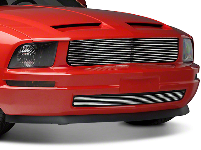 Modern Billet Polished Retro Billet Grille (05-09 V6)