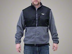 Ford Mustang Gray Microfleece (Medium)