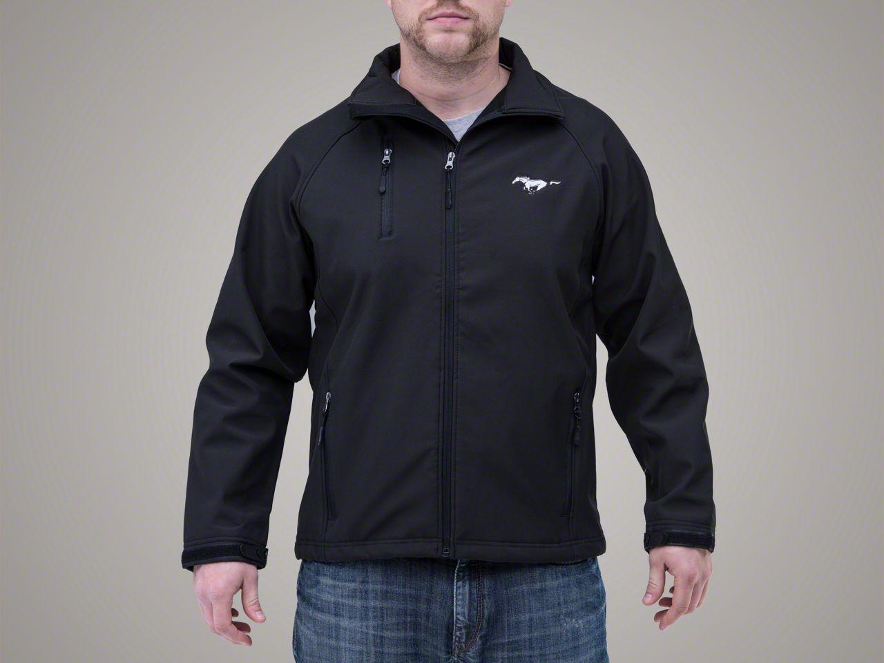 Ford Mustang Black Soft Shell jacket (Medium)