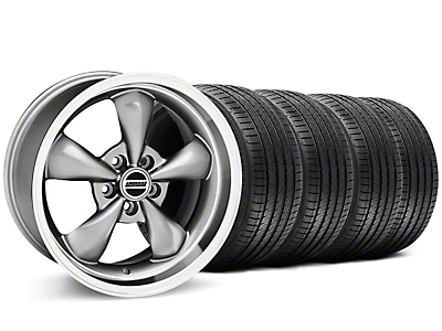 Bullitt Anthracite Wheel & Sumitomo Tire Kit - 17x9 (87-93 5 Lug Conversion)