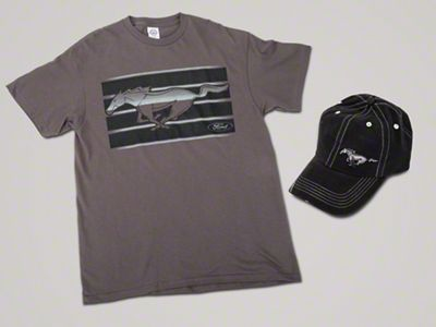 Running Pony T-shirt & Hat Combo - Large