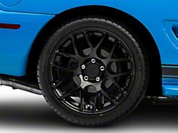 AMR Black Wheel; Rear Only; 18x10 (94-98 All)