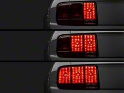 Raxiom Tail Lights and Sequential Tail Light Kit; Smoked (05-09 All)