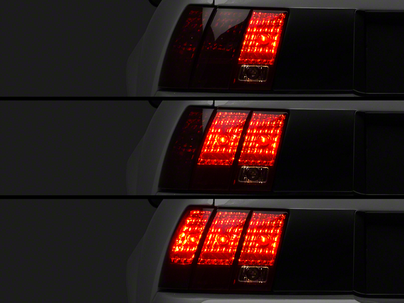 Raxiom Smoked Tail Lights and Sequential Combo (99-04 All, Excluding 99-01 Cobra)