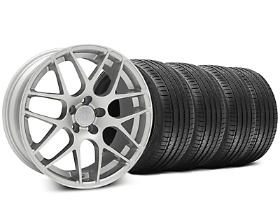 AMR Silver Wheel & Sumitomo Tire Kit - 20x8.5 (05-14 All)