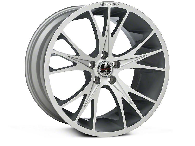 Shelby CS1 Hyper Silver Wheel - 20x11 (15-17 All)