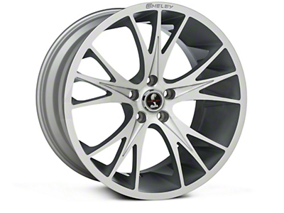 Shelby CS1 Hyper Silver Wheel - 20x11 (15-17 All)