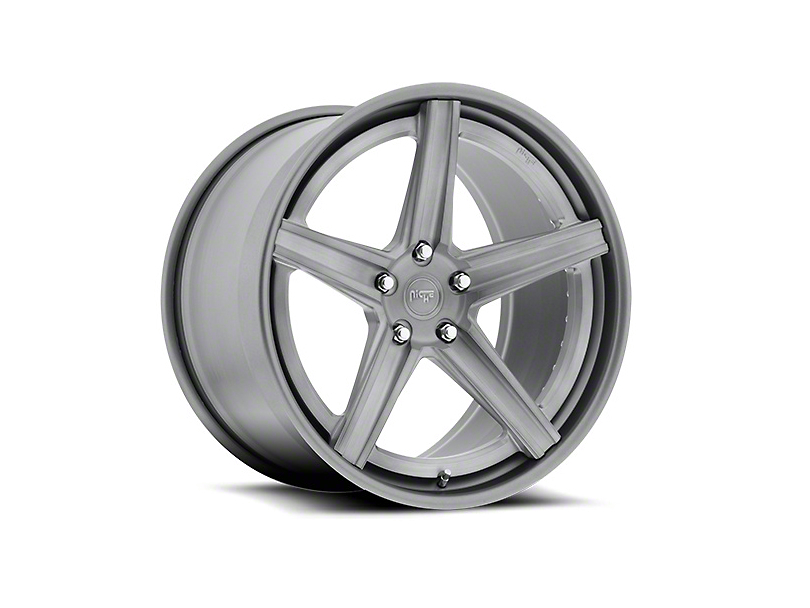 Niche Apex Machined Silver Wheel - 20x8.5 (15-19 GT, EcoBoost, V6)
