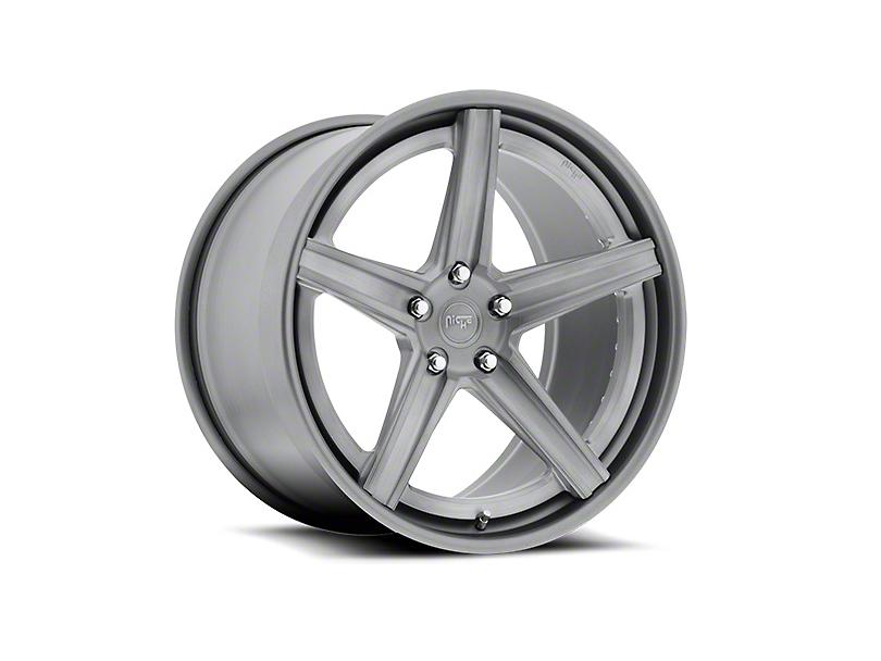 Niche Apex Machined Silver Wheel - 20x8.5 (15-17 All)