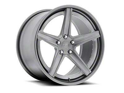 Niche Apex Machined Silver Wheel - 20x8.5 (15-18 GT, EcoBoost, V6)
