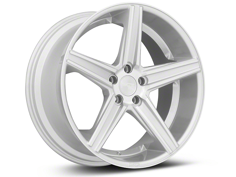 Niche Apex Machined Silver Wheel - 20x10 (15-17 All)