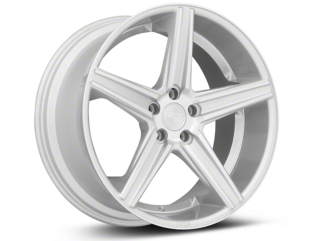 Niche Apex Machined Silver Wheel - 20x10 (15-18 GT, EcoBoost, V6)