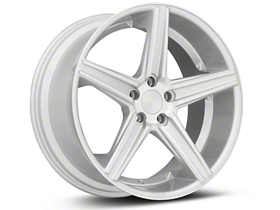 Niche Apex Machined Silver Wheel - 20x10 (15-19 GT, EcoBoost, V6)