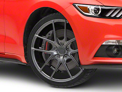 Niche Targa Matte Anthracite Wheel - 19x8.5 (15-17 All)
