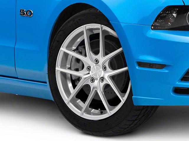 Niche Targa Matte Silver Wheel; 19x8.5 (10-14 Standard GT, V6)