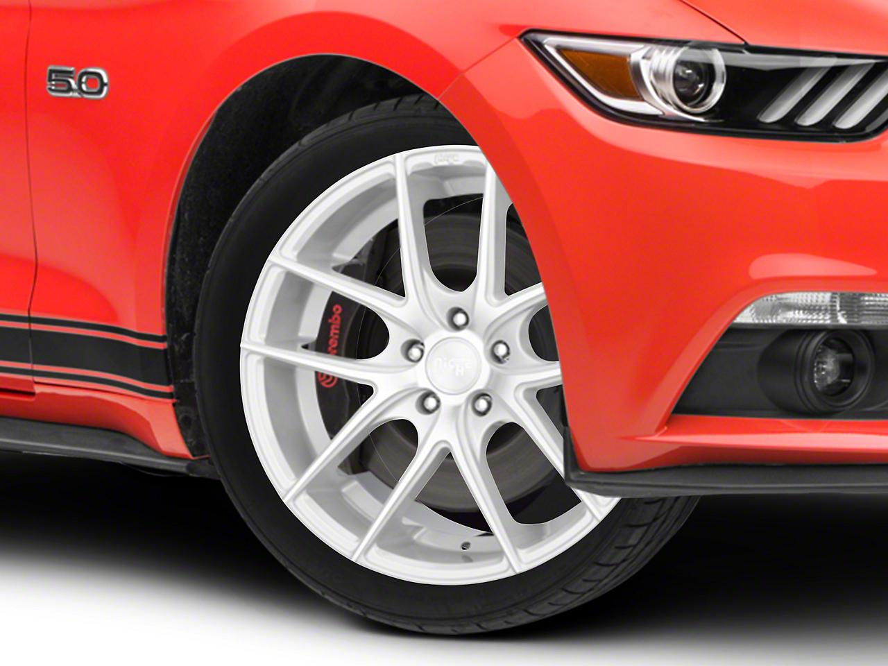 Niche Targa Matte Silver Wheel - 19x8.5 (15-18 EcoBoost, V6)