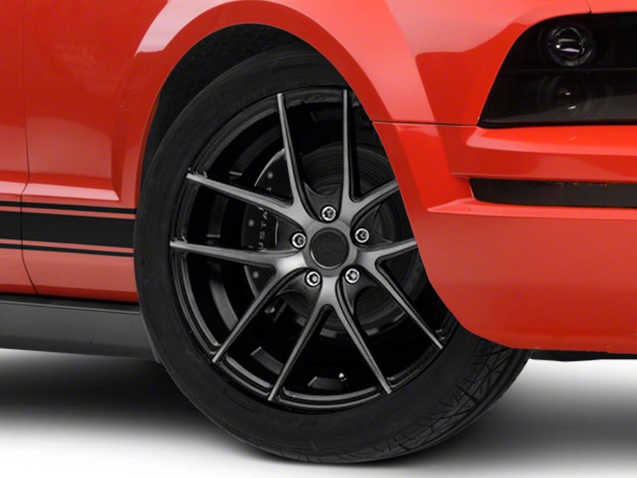 Niche Targa Matte Black Wheel - 19x8.5 (05-14 Standard GT, V6)