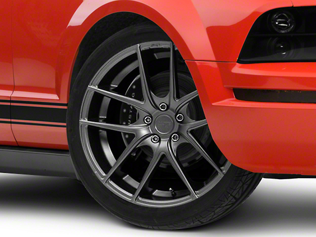 Niche Targa Matte Anthracite Wheel - 20x8.5 (05-14 All)
