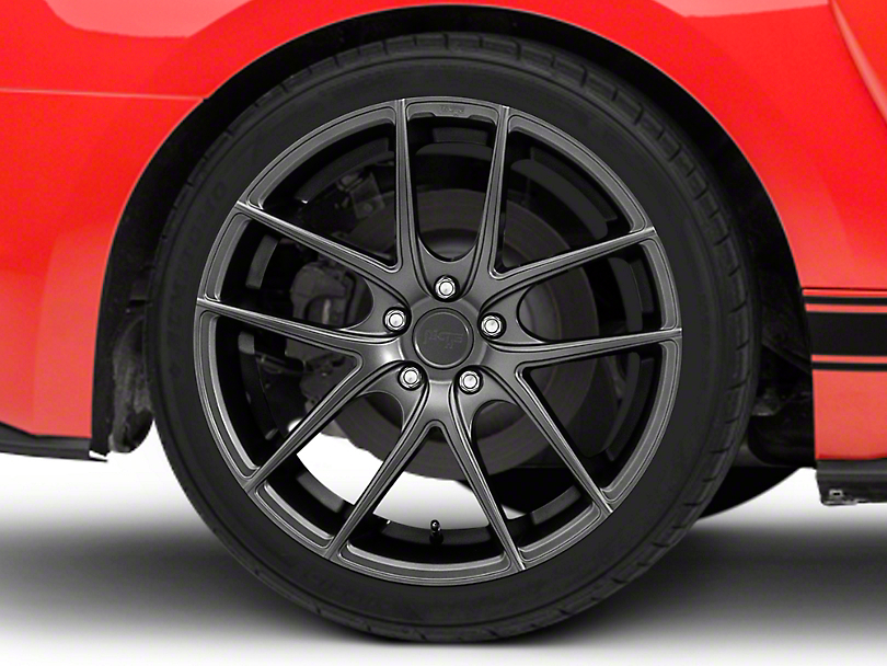Niche Targa Matte Anthracite Wheel - 20x10 - Rear Only (15-19 GT, EcoBoost, V6)
