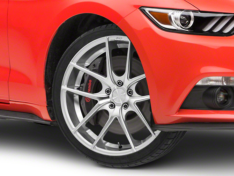 Niche Targa Matte Silver Wheel - 20x8.5 (15-19 GT, EcoBoost, V6)