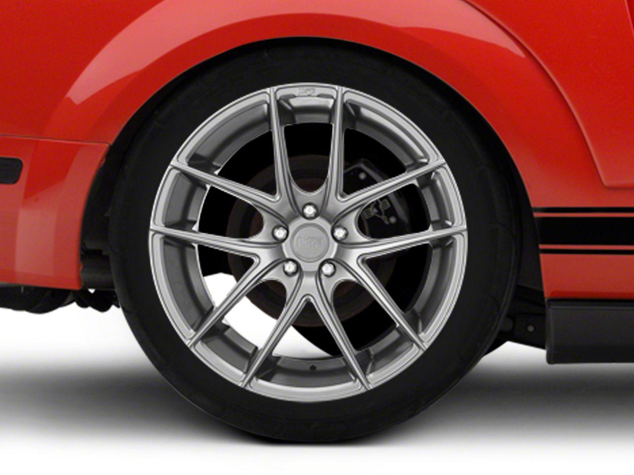 Niche Targa Matte Silver Wheel - 20x10 - Rear Only (05-14 All)
