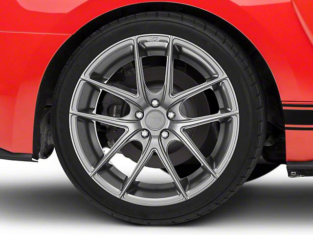 Niche Targa Matte Silver Wheel - 20x10 (15-19 GT, EcoBoost, V6)