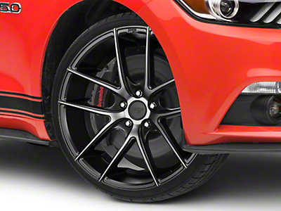 Niche Targa Matte Black Wheel - 20x8.5 (15-17 All)