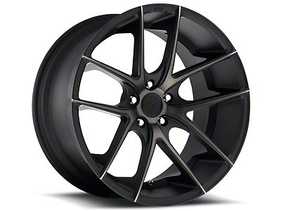 Niche Targa Matte Black Wheel - 20x10 (15-17 All)