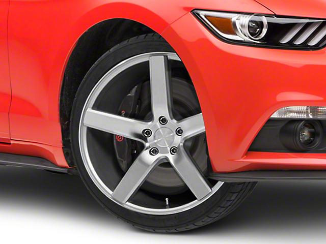 Niche Milan Silver Wheel - 20x8.5 (15-19 GT, EcoBoost, V6)