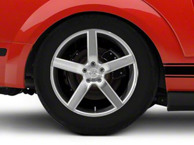 Niche Milan Silver Wheel - 20x10 - Rear Only (05-14 All)