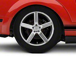 Niche Milan Silver Wheel; Rear Only; 20x10 (05-09 All)