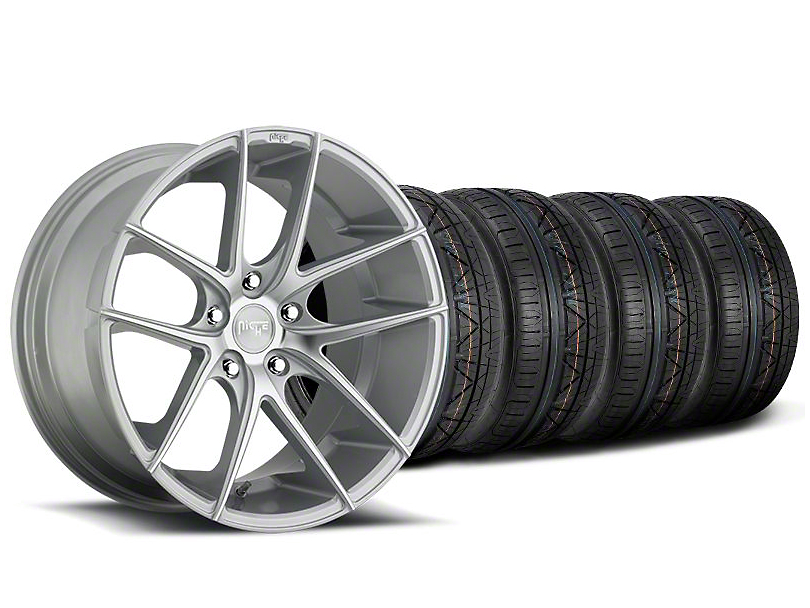 Niche Targa Matte Silver Wheel & NITTO INVO Tire Kit - 20x8.5 (05-14 All)