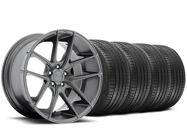Niche Targa Matte Anthracite Wheel & Sumitomo Tire Kit - 20x8.5 (05-14 All)